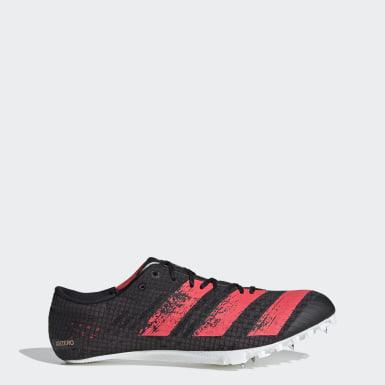 Leichtathletik Adizero Finesse Spike-Schuh Weiß