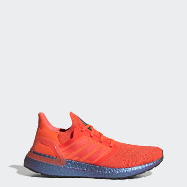 Running Orange Ultraboost 20 Shoes