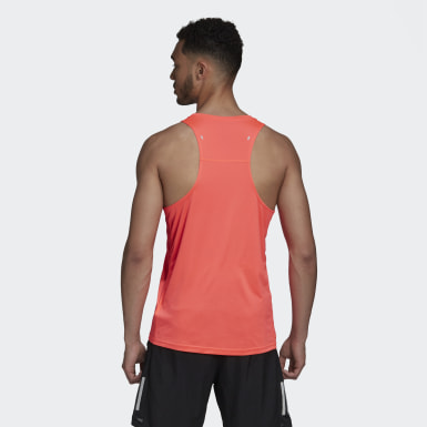 Own the Run 3-Stripes PB Singlet Różowy