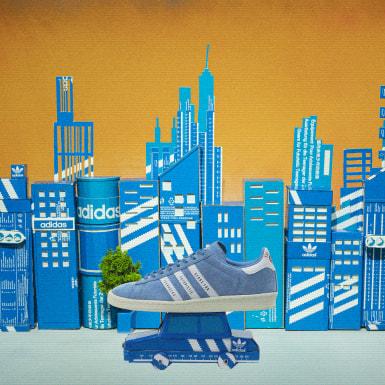 Chaussure Campus Human Made bleu Originals
