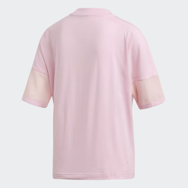 Women Athletics Pink adidas Z.N.E. Tee