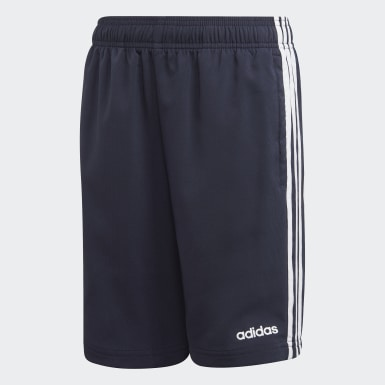 Essentials 3-Stripes Woven Shorts