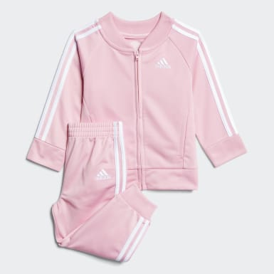 Infant & Toddler Training Pink Classic Tricot Jogger Set