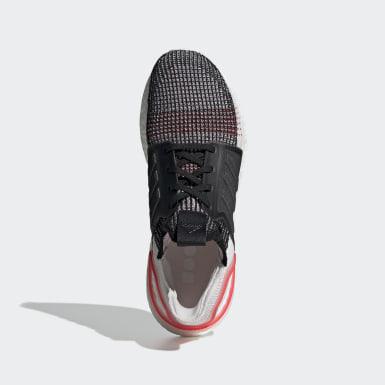 Men Running Black Ultraboost 19 Shoes
