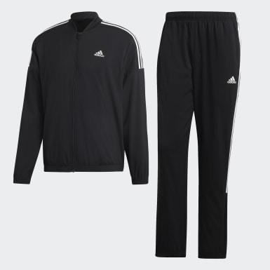 Conjunto de Chaqueta y Pantalón Light Woven Negro Hombre Athletics