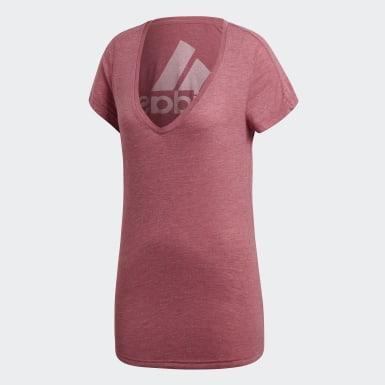 Camiseta ID Winners Rosa Mulher Athletics