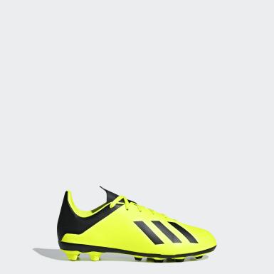 รองเท้าฟุตบอล X 18.4 Flexible Ground
