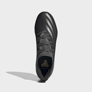 Men's Soccer Black X Ghosted.3 Indoor Soccer Shoes