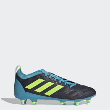 Rugby Blå Malice Elite Soft Ground støvler