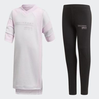розовый Комплект: футболка и леггинсы EQT