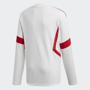 Sudadera entrenamiento Arsenal Blanco Niño Fútbol