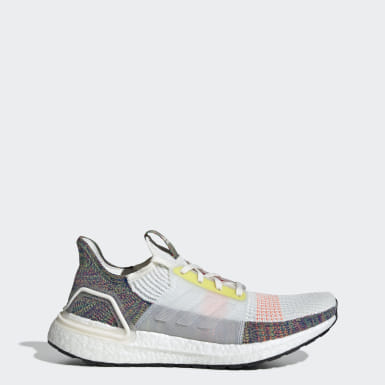 Men Running White Ultraboost 19 Pride Shoes