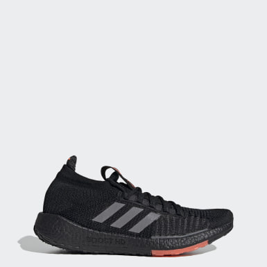Men's Running Black Pulseboost HD Shoes