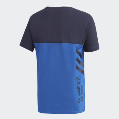 Boys Lifestyle Blue Branded Tee