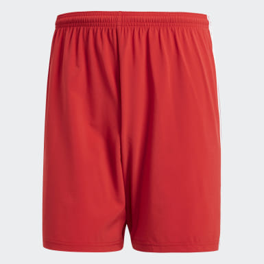 Short Condivo 18 Rouge Hommes Football