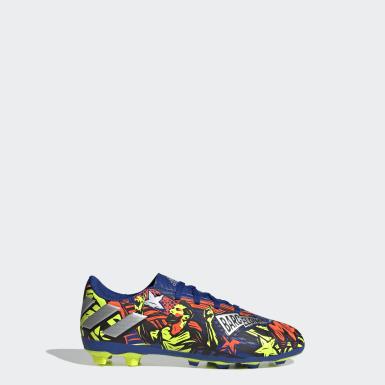 Çocuklar Futbol Mavi Nemeziz Messi 19.4 Krampon