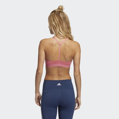 Frauen Training All Me Light Support Training Sport-BH Rosa