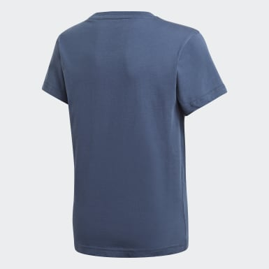 T-shirt Adicolor Graphic Bleu Enfants Originals