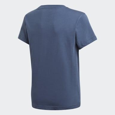 T-shirt adicolor Graphic Blu Bambini Originals
