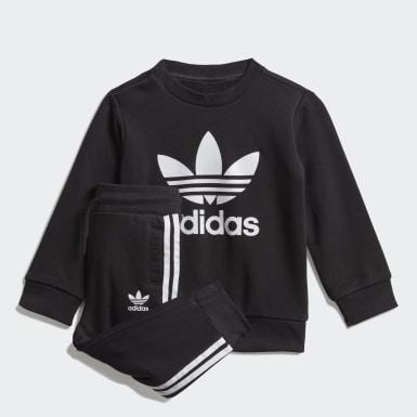 Børn Originals Sort Crew sweatshirt sæt