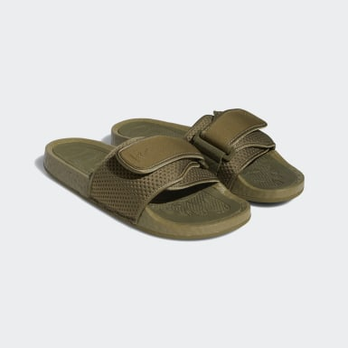 Originals Green Pharrell Williams Boost Slides