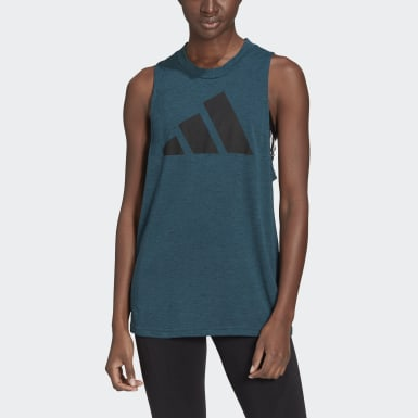 Women Athletics Turquoise adidas Sportswear Winners 2.0 Tank Top