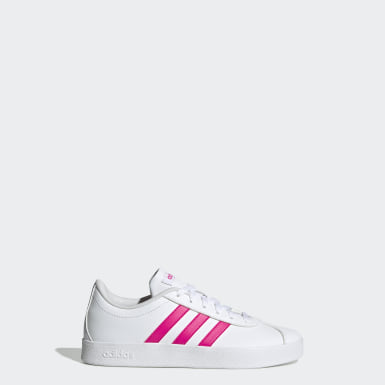 Tenis VL Court 2.0 (UNISEX) Blanco Niño Essentials
