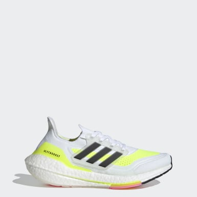 Sapatos Ultraboost 21 Branco Mulher Running