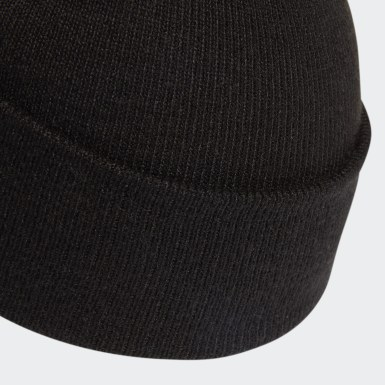 Originals Black Adicolor Bobble Beanie