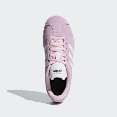 Çocuklar Sport Inspired Pembe VL Court 2.0 Ayakkabı