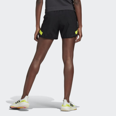 Women Running Black adidas Ultra Shorts