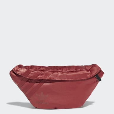 Women Originals Red Waist Bag