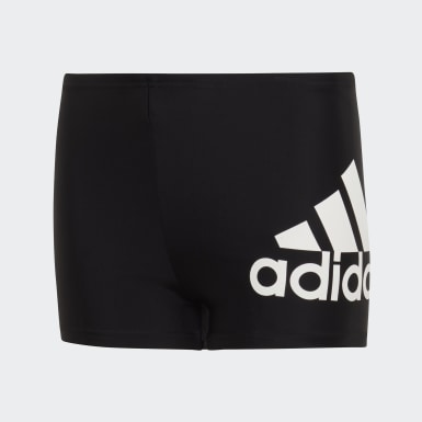 Boys Swimming Black Badge of Sport Swim Boxers