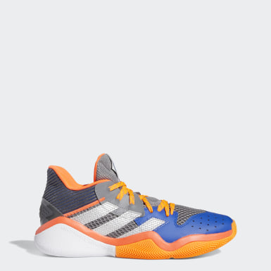 Basketball Harden Stepback Basketballschuh Grau