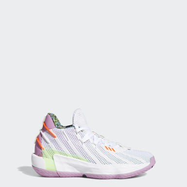 Youth Basketball White Dame 7 x Buzz Toy Story Shoes