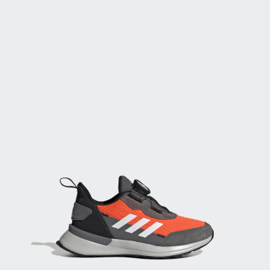 Kids Running Orange RapidaRun Boa Shoes