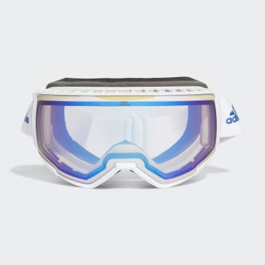 Winter Sports White Snow Goggles SP0039