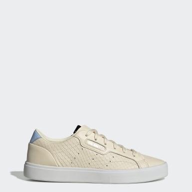 Women Originals Beige adidas Sleek Shoes