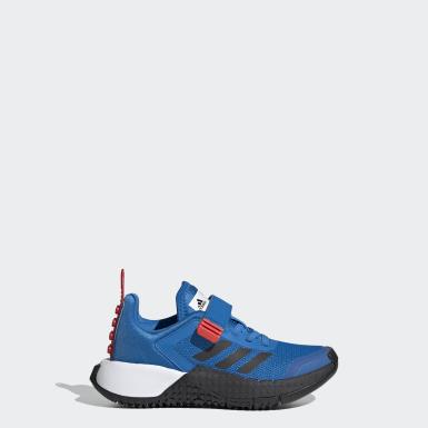 Chaussure adidas x LEGO® Sport bleu Enfants Course