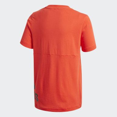 T-shirt Must Haves Big Logo Bordeaux Ragazzo Training
