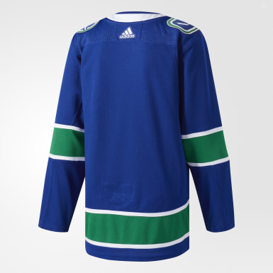 Hockey Blue Canucks Home Authentic Pro Jersey