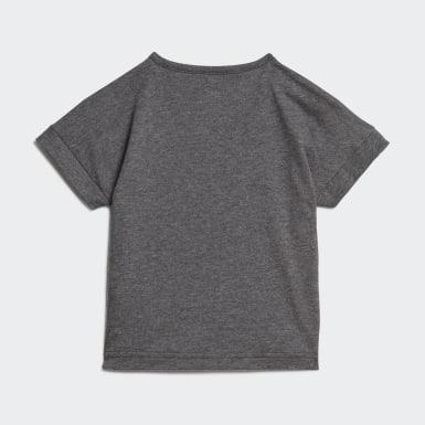 Jungen Running Berlin Marathon T-Shirt Grau