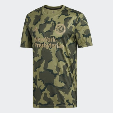 New York City FC Camo Pre-Match Jersey