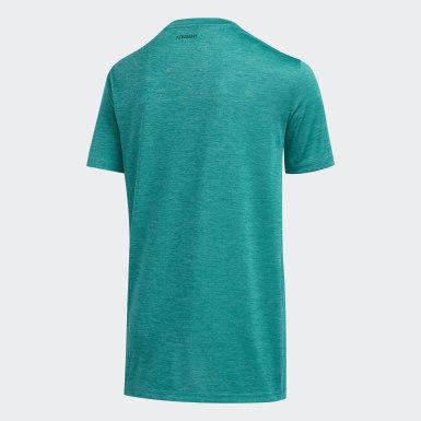 T-shirt Pixel vert Adolescents Entraînement