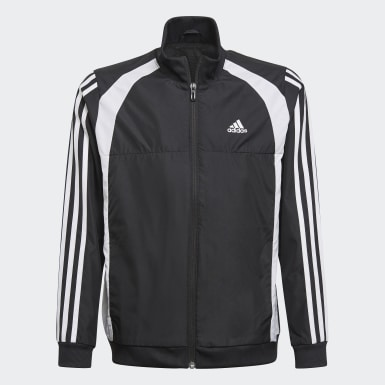 Youth 8-16 Years Training Black Woven Tracksuit