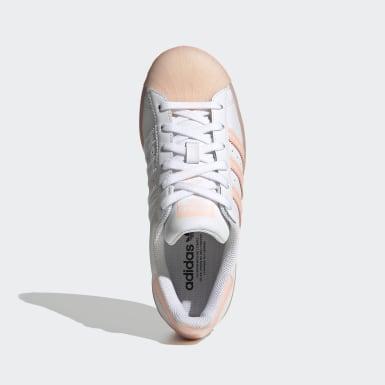 Genç Originals Beyaz Superstar Ayakkabı