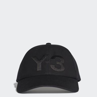 Y-3 Μαύρο Y-3 Classic Logo Cap