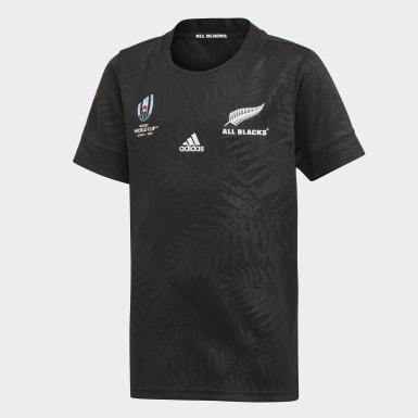 Camisola Principal Rugby World Cup Y-3 dos All Blacks