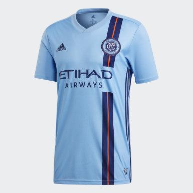 Men Football Blue New York City FC Home Jersey