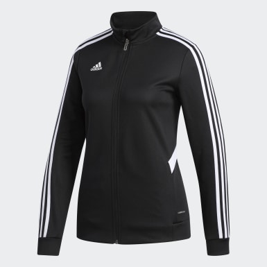 Dam Fotboll Svart Tiro Track Jacket